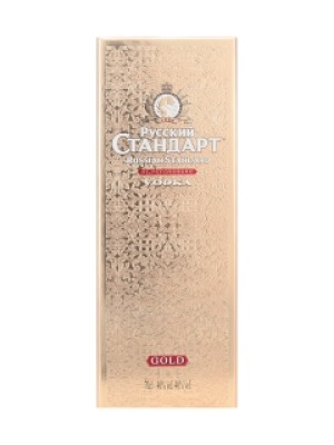 Russian Standard Gold Wheat Vodka