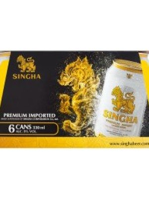 Singha Thai Lager Can
