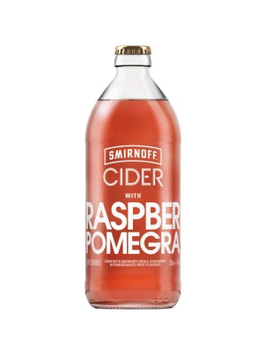Smirnoff Raspberry and Pomegranate Cider