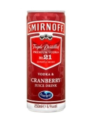 Smirnoff Vodka & Cranberry