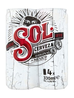 Sol Lager Can