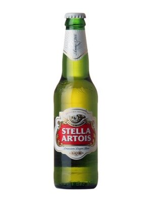 Stella Artois Lager Bottle