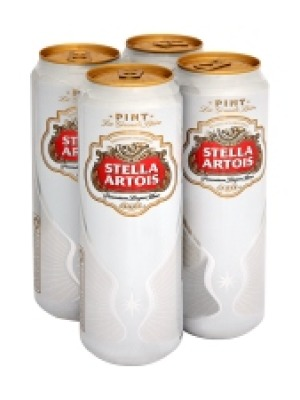 Stella Artois Lager Can