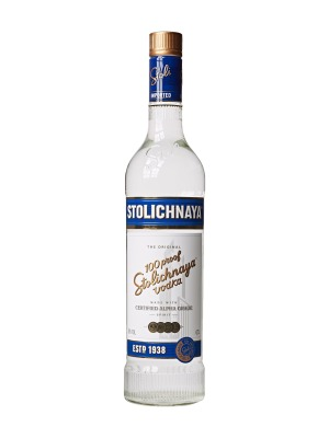 Stolichnaya Blue Label Vodka