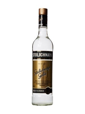 Stolichnaya Gold Label Vodka