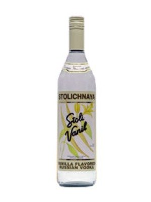 Stolichnaya Vanilla Latvian Flavoured Grain Vodka