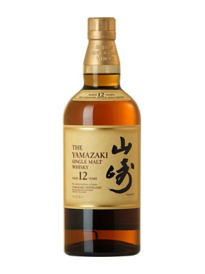 Suntory Yamazaki 12 year Single Malt Japanese Whisky