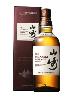 Suntory Yamazaki Single Malt Whisky Distillers Reserve