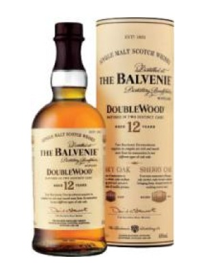 The Balvenie Doublewood 12 Year Old Malt Scotch Whisky