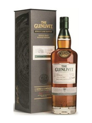 The Glenlivet 14 Year Old Conglass Speyside Single Malt Whisky