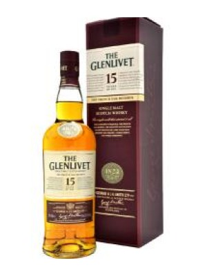 The Glenlivet 15 Year Old French Oak Malt Scotch Whisky