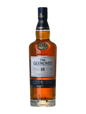 The Glenlivet 18 Year Old Malt Scotch Whisky