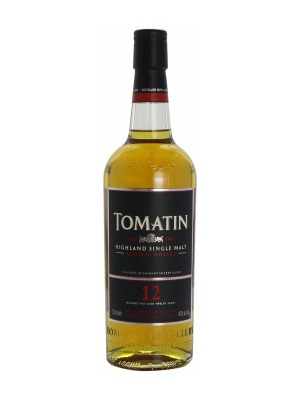 Tomatin 12 Year Old Malt Whisky