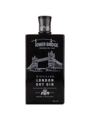 Tower Bridge Gin Black