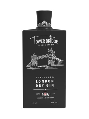 Tower Bridge London Dry Black Gin