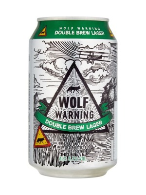 Wolf Warning Double Brewed Lager