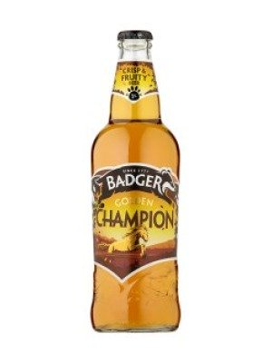 Badger Brewery Golden Champion Ale Bottle