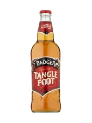 Badger Brewery Tanglefoot Bottle