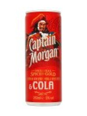 Captain Morgans Spiced Rum and Cola