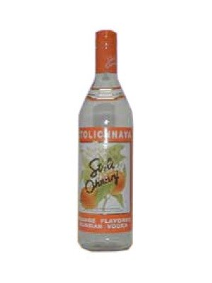 Stolichnaya Ohranj Latvian Orange Flavour Grain Vodka