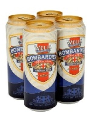 Wells Bombardier Bitter Can